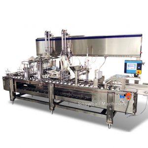 фасовочные автоматы для наполнения мороженым