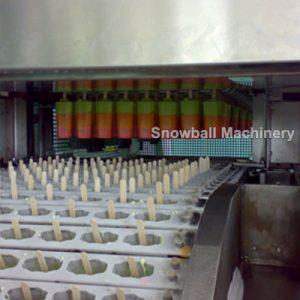 производственная линия для производства мороженого на палочке