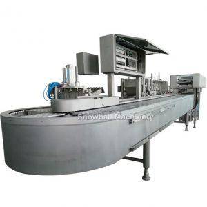 Оборудование овального вида для производства мороженого на палочке