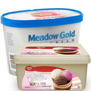 мороженое в семейной упаковке