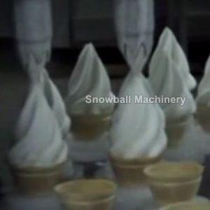 Фасовочная машина для мороженого в стаканчиках