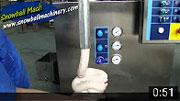 Фризер непрерывного действия машина мороженое
