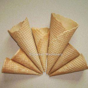 Мороженое сахарных рожек