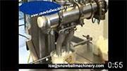 Фасовочная машина для наполнения мороженым