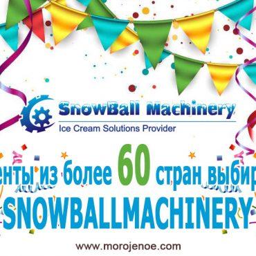 Почему клиенты из более 60 стран выбирают SNOWBALLMACHINERY
