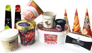 упаковки для мороженого