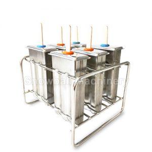 Формы мороженого из нержавеющей стали для производства фруктого льда дома