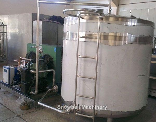 Оборудования для приготовления смеси мороженого